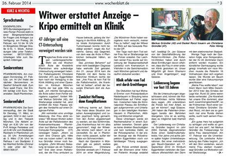 wochenblatt rottal inn k 246 nig abdrucke