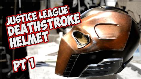 c tutorial youtube bucky deathstroke justice league how to make a foam mask
