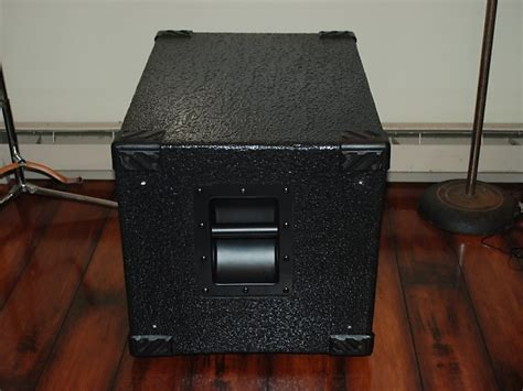 used schroeder 1515 l bass cabinet 2x15 quot 8ohm 800w reverb