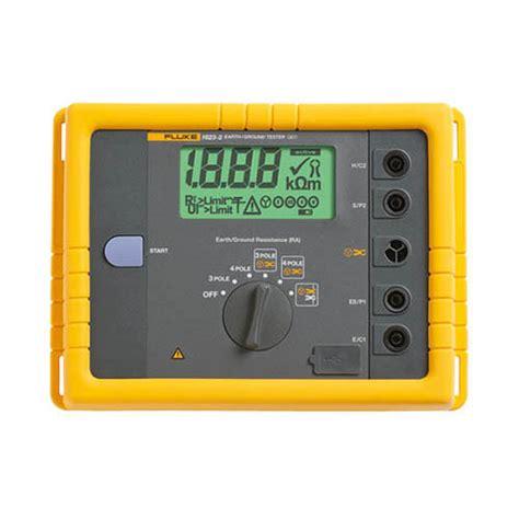 Jual Earth Ground Tester Fluke 1623 2 Kit fluke 1623 2 geo earth ground tester kit basic ebay