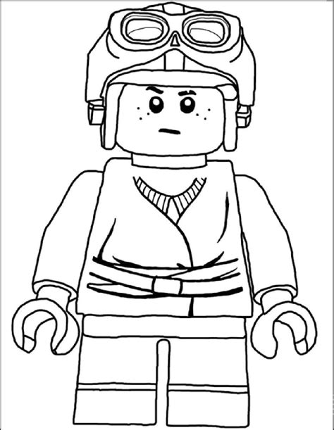 lego star wars luke skywalker coloring pages coloring pages