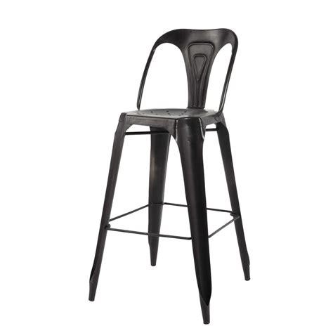 chaise bistro metal chaise de bar indus en m 233 tal multipl s maisons du