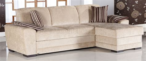 cream material sofa cream fabric modern sectional sofa w storage space