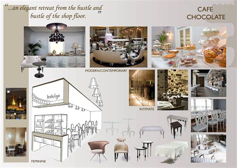 Small Room Ideas by Concepts In Theory Chocolate Cafe Motif By Jess Marshall