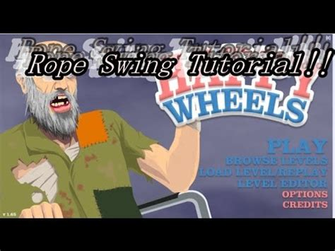 happy wheels rope swing game como fazer mapa de rope swing no happy wheels tutorial