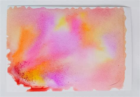 how to make watercolor backgrounds without watercolors