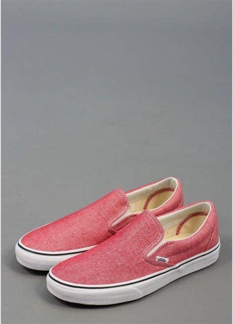 chilli shoes vans classic slip on shoes chilli