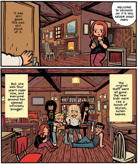 seconds a graphic novel creator of pilgrim finally returns with new graphic
