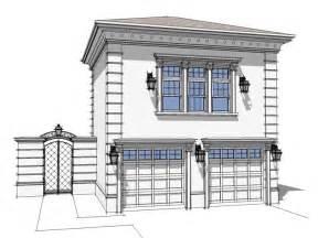 Shop Plans With Apartment by Unique Garage Plans 2 Car Garage With Guest Suite Plan