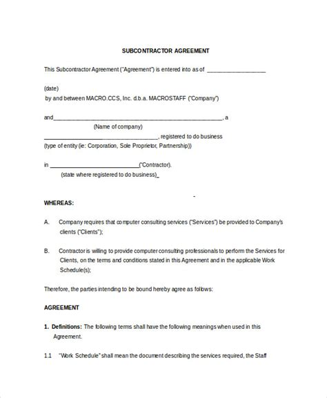non solicitation agreement template non compete agreement 11 free word pdf documents