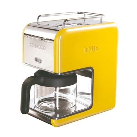 Housing Warming Gifts by Yellow Kenwood Boutique Range Filter Coffee Maker Gadget
