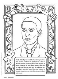 James Weldon Johnson Coloring Page Coloring Pages Coloring Pages For Black History Month