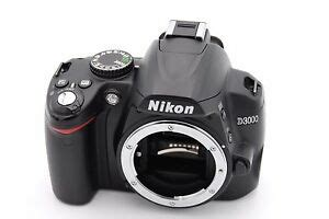nikon d d3000 10 2mp digital slr black only shutter count 1750 689466142754 ebay
