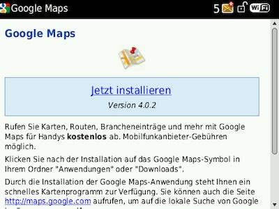 download google maps for blackberry full version google maps f 252 r den blackberry 174 in version 4 0 2 verf 252 gbar
