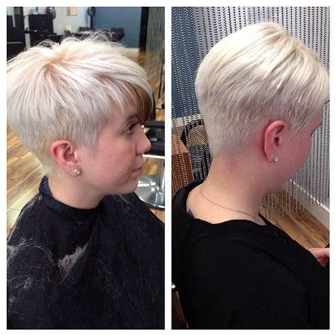 pixie hairstyle full on top tapered back for women short tapered a pixie short faded and tapered