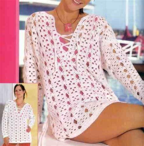 blusas de gancho blusas tejidas a gancho crochetjaponesas imagui