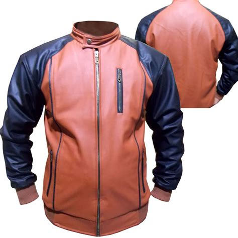 Parasut Jacket Kombinasi jkc jaket kulit kombinasi jaket korea pria elevenia