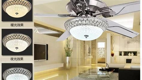 Decorative Ceiling Fans For Dining Room by Luxury Decorative Chandelier Fan Living Room