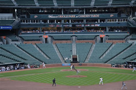 much is missing as baltimore orioles play to an empty