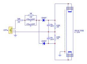 fluorescent lighting circuit wiring diagram images