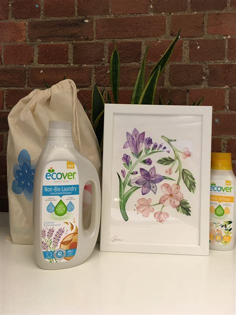 Uk Giveaways - ecover uk laundry giveaway signed framed print by freya morgan sophie s nursery