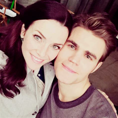 the vampire diaries tv show images paul wesley and annie