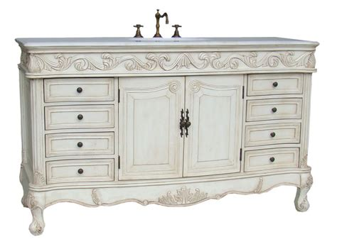 Bathroom Vanities With Matching Linen Tower 60 Quot Whitewash Stained Bathroom Vanity Sink Marble