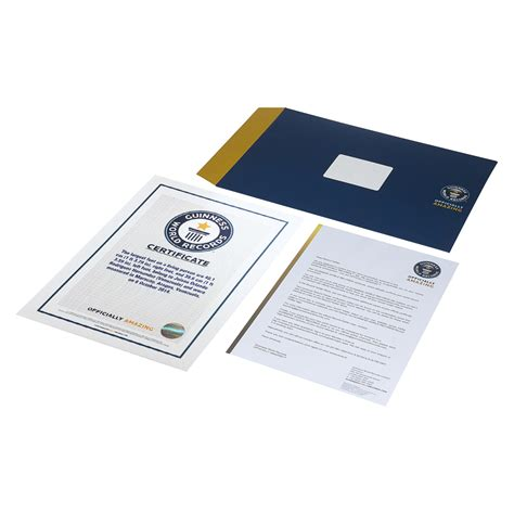 Are Certificates Records The Guinness World Records Store Certificates