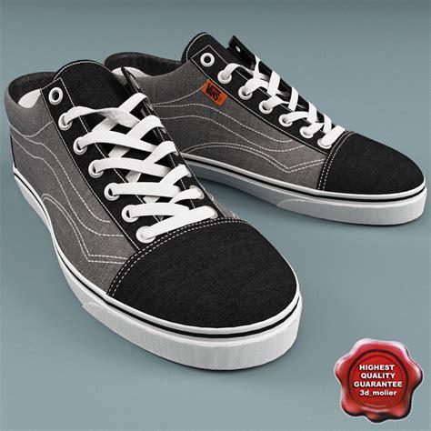 vans sneakers for vans shoes c4d