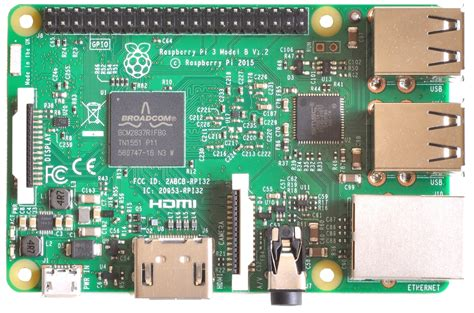 Raspberry Pi 3 Model B raspberry pi 3 model b launches today 64 bit a53 1
