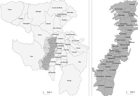 imagenes satelitales quito archivo mapa de parroquias de quito jpg wikipedia la