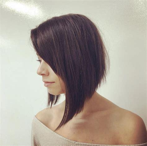 uneven bob for thick hair 50 sensational asymmetrical bob haircuts for thick hair