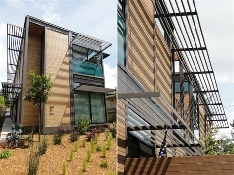 multifamily design livinghomes completes 3 unit ray kappe designed multi