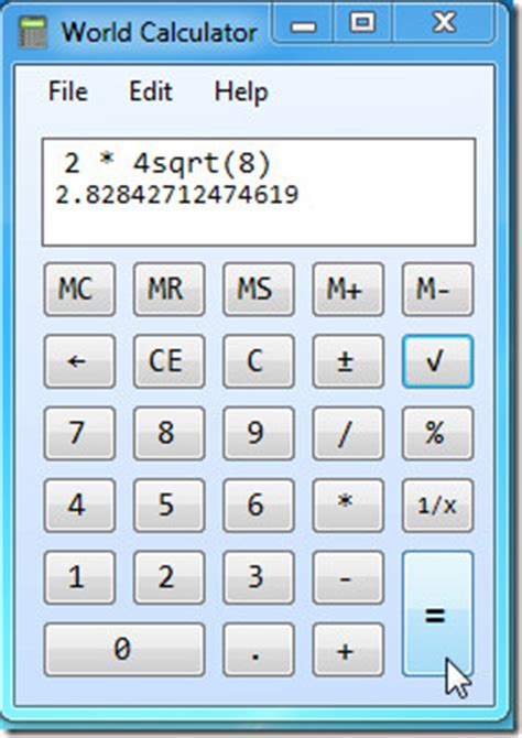 calculator windows 7 image gallery windows 7 calculator