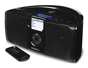 emerson itone ip550bk portable stereo system