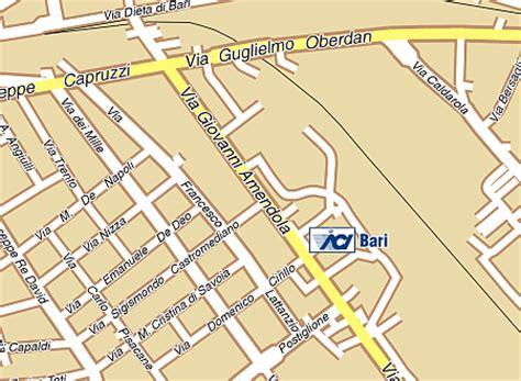 uffici aci bari direzione territoriale aci di bari dove ci trovi