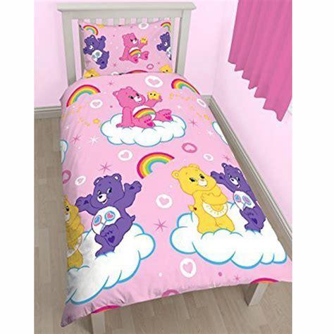care bear bedding care bears share single duvet cover set new reversible bedding ebay