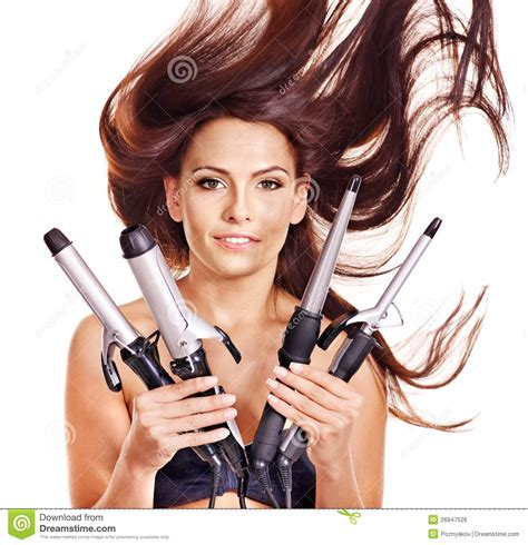 curling irons that won t damage hair hair iron icon in black style isolated on white background