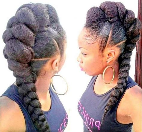 Faux Mohawk Hairstyles by 20 Badass Mohawk Hairstyles For Black