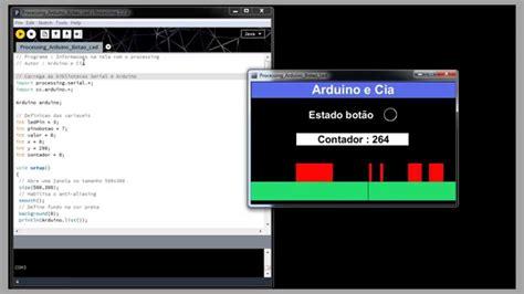 tutorial arduino processing arduino e cia comunica 231 227 o arduino processing youtube