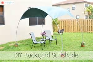 diy backyard shade diy backyard sunshade the kreative