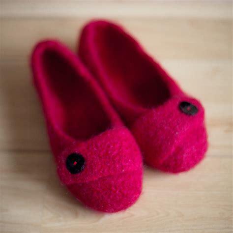 pattern for felt slippers free felted slipper pattern