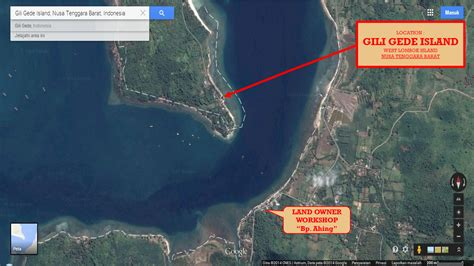 Tanah 60 Are Gili Gede by Tanah Dijual 80 Acre Di Gili Gede Pulau Lombok Cocok