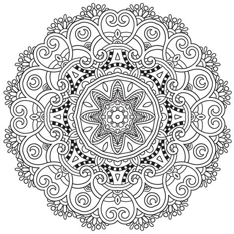 mandala coloring pages for adults pdf mandala to in pdf 2 mandalas coloring pages