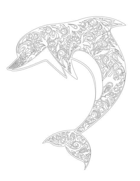 advanced dolphin coloring pages раскраски антистресс распечатать