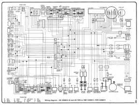 honda cx500 c b uk and us cx500 c 1979 81 and 1979 cx500 d electrical wiring diagram all