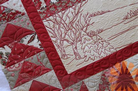 Quilting By by N Quilt The River Custom Machine Quilting By