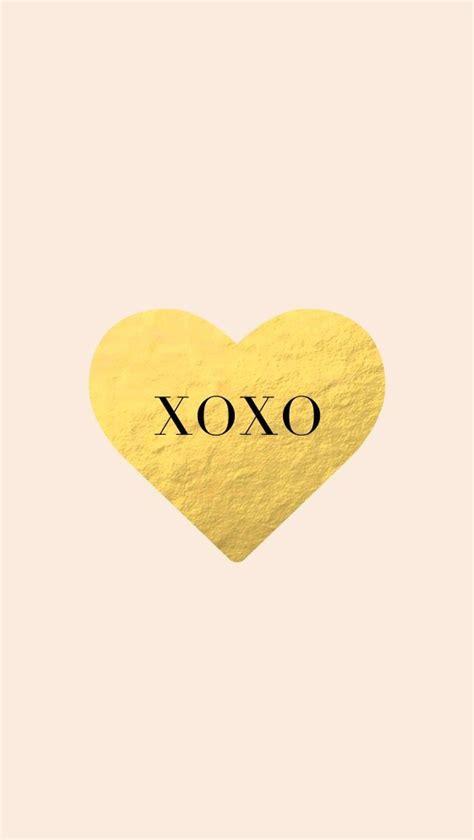 cute xoxo wallpaper backgrounds girly heart homescreen iphone phone