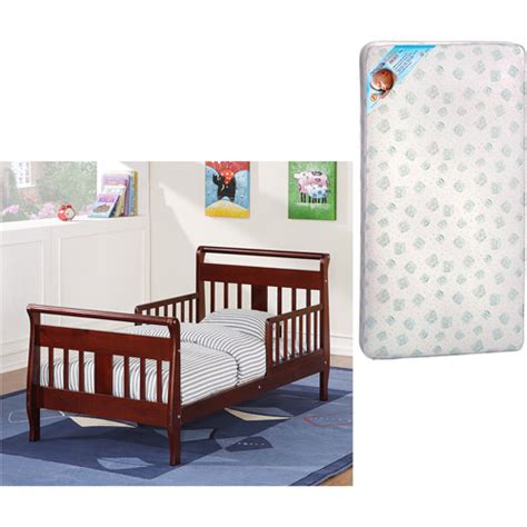 walmart toddler bed mattress baby relax toddler bed w toddler mattress value bundle