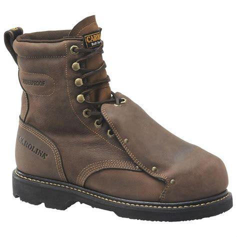 s carolina 174 steel broad toe wedge work boots 227417
